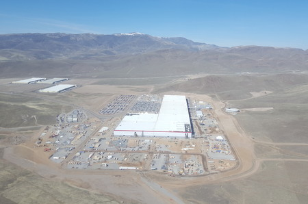 Tesla Gigafactory March 2017 Teslarati Aerial 4