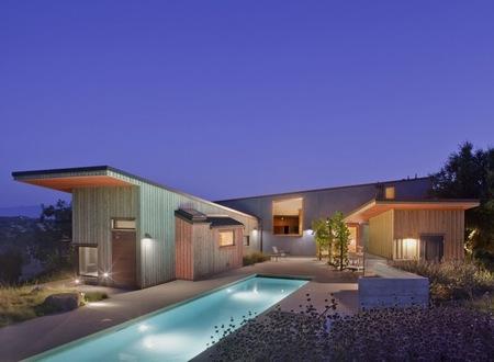 Puertas abiertas: confort y estilo en una casa de California