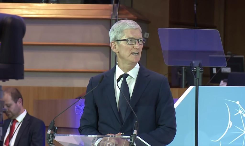 Tim Cook defiende la ley GDPR europea y la plantea para el resto del mundo