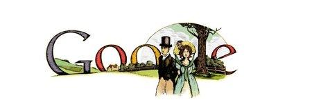 Jane Austen tampoco se escapa de Google
