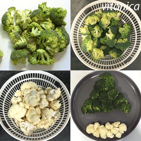 Árbol de Brócoli. Pasos