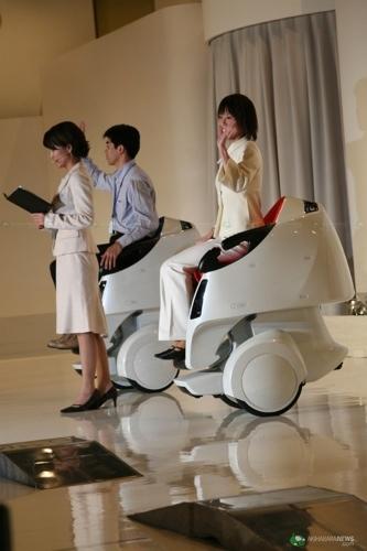 Robot Toyota Transporte