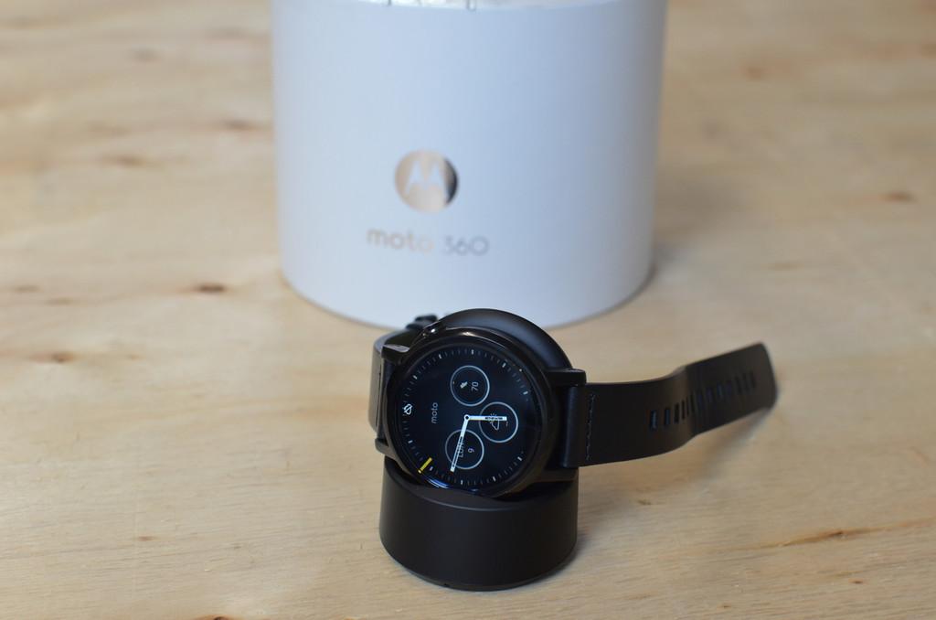 Hay un reciente Moto™ 360, pero no lo fabrica Motorola