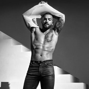 Maluma debuta como modelo de la línea de Jeans y ropa interior de Calvin Klein