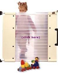 Qualigate: puerta de seguridad transparente para niños