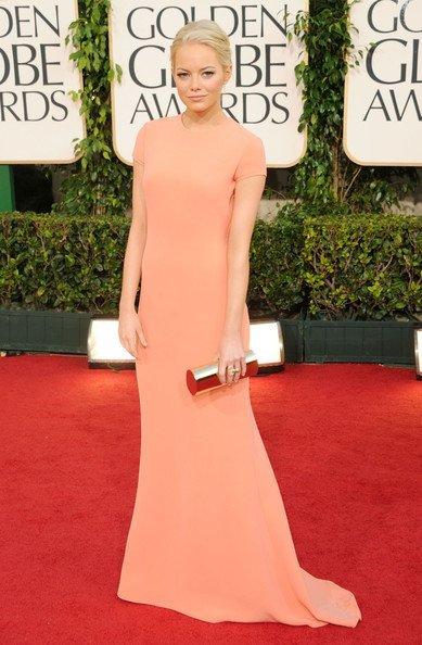 Emma Stone Globos de Oro 2011