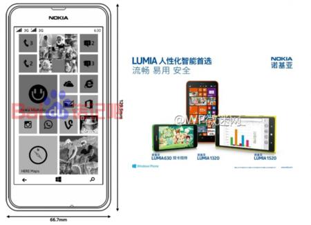 Más sobre el Nokia Lumia 630 desde China