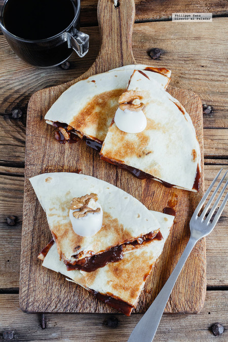 Quesadillas Chocolate