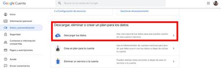 Descargar Datos Google