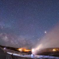 El parque de Yelowstone en un espectacular timelapse del proyecto Skyglow