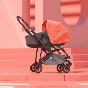 El Bugaboo Bee5 se renueva con una edición limitada color Coral: optimismo en el cochecito de bebé más urbano