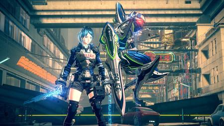 Astral Chain se podrá jugar en cooperativo con un amigo durante los combates, pero si lo hacemos será un desafío mucho mayor
