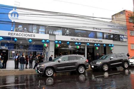 La tercera Mopar Shop en México, ahora en Santa Fe