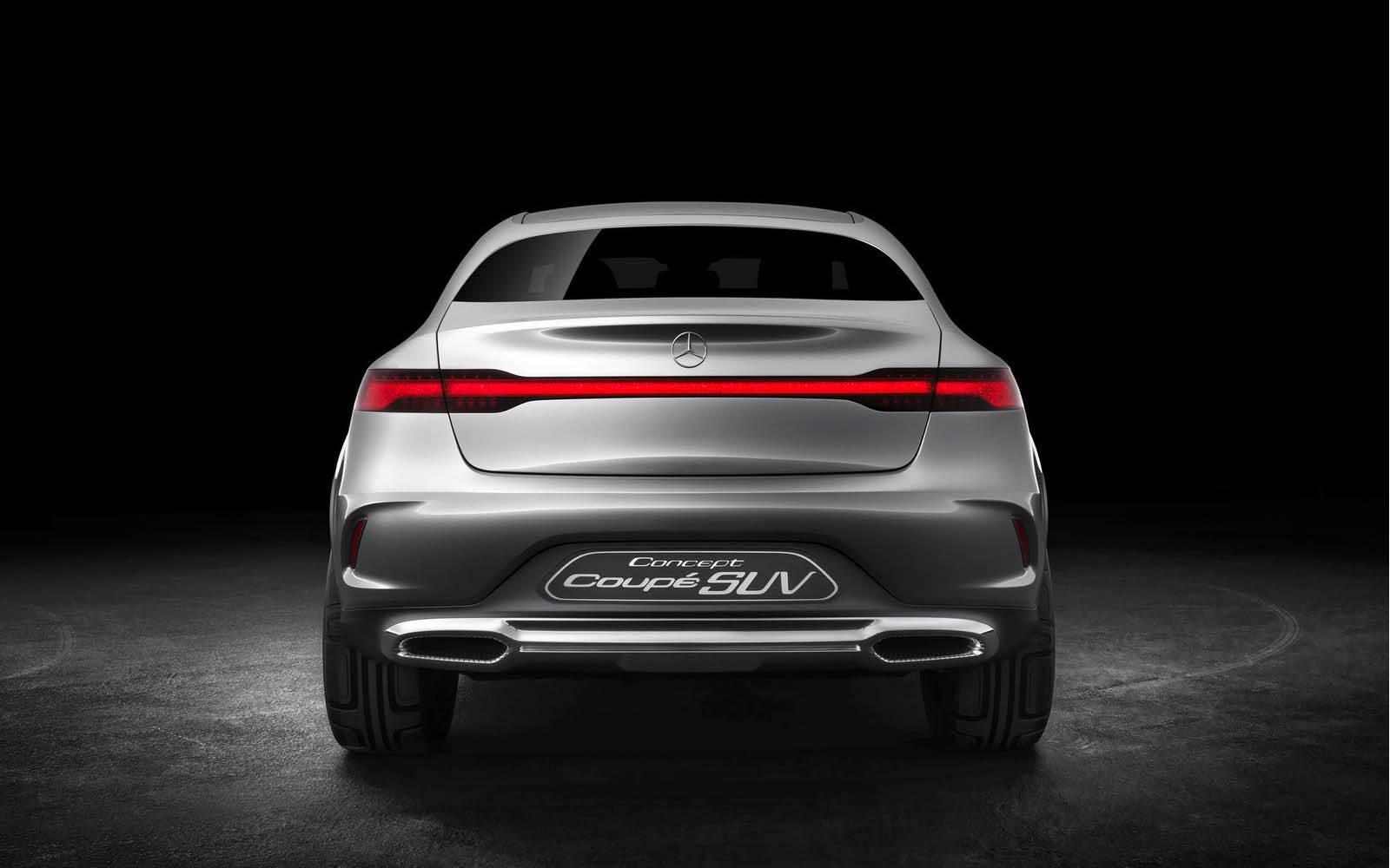 Foto de Mercedes-Benz Coupé SUV Concept (22/30)