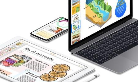 iWork se actualiza para poder adoptar los atajos de Siri y el modo oscuro de macOS Mojave