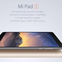Tablet Xiaomi Mi Pad 2, de 16GB de capacidad, por 138,74 euros y envío gratis