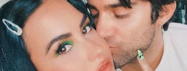 Demi Lovato protagoniza el look beauty más noventero del momento y al que no le falta detalle
