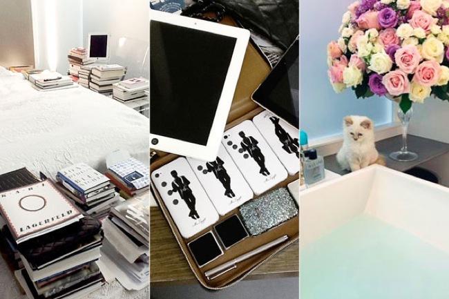Karl Lagerfeld Harpers Bazaar