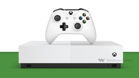 "Así luce la primera Xbox sin lector de discos para juegos digitales, ""Xbox One S All-Digital"", según Windows Central"