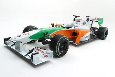 Force India y Lotus F1 Racing nos enseñan sus nuevos monoplazas
