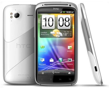 HTC Sensation en su nueva versión color blanco vendrá con Ice Cream Sandwich