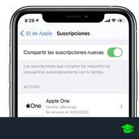 Cómo compartir tus suscripciones de servicios y apps desde tu iPhone