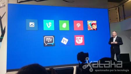 Nokia revela nuevas aplicaciones para Windows Phone, entre ellas BlackBerry Messenger
