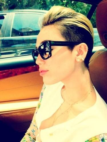 ¡Alegría! Se cuela en la red una foto de Miley Cyrus en topless