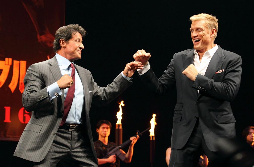Sylvester Stallone und Dolph Lundgren wieder gemeinsam in einem action-serie