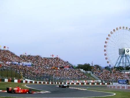 Horarios del GP de Japón de Fórmula 1