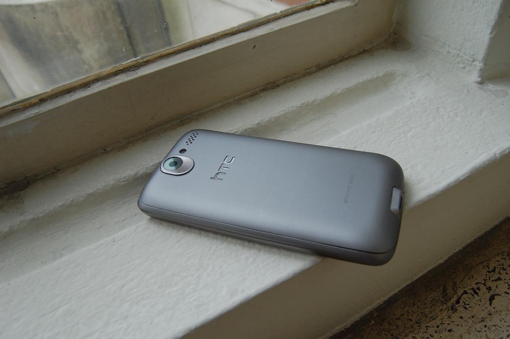 Foto de HTC Desire en plata (1/4)