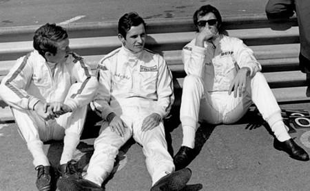 Piers Courage, Jacky Ickx y Jackie Stewart