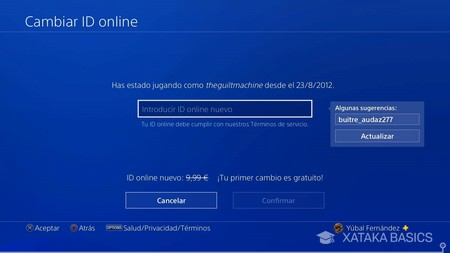 Nuevo Id Online