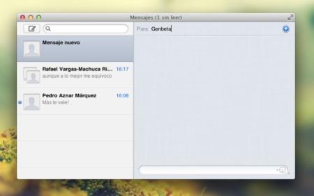 Mensajes, la nueva aplicación de mensajería instantánea de Apple. A fondo