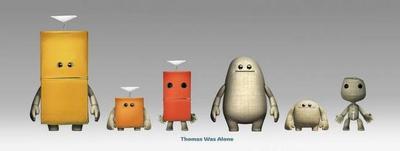 LittleBigPlanet 3 se disfraza de Thomas Was Alone para el disfrute de todos