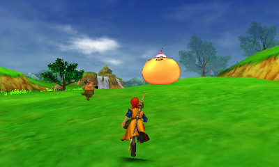 Ci7 3ds Dragonquest8journeyofthecursedking Enemy On Field