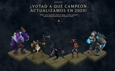 La comunidad elegirá el próximo rework de League of Legends