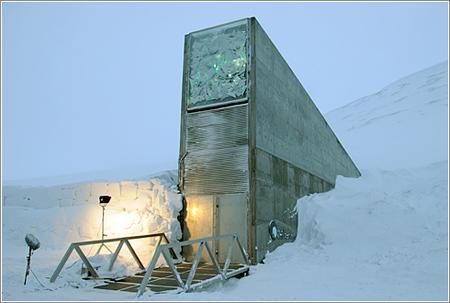 El arca de Noe de las plantas: la bóveda del fin del mundo.
