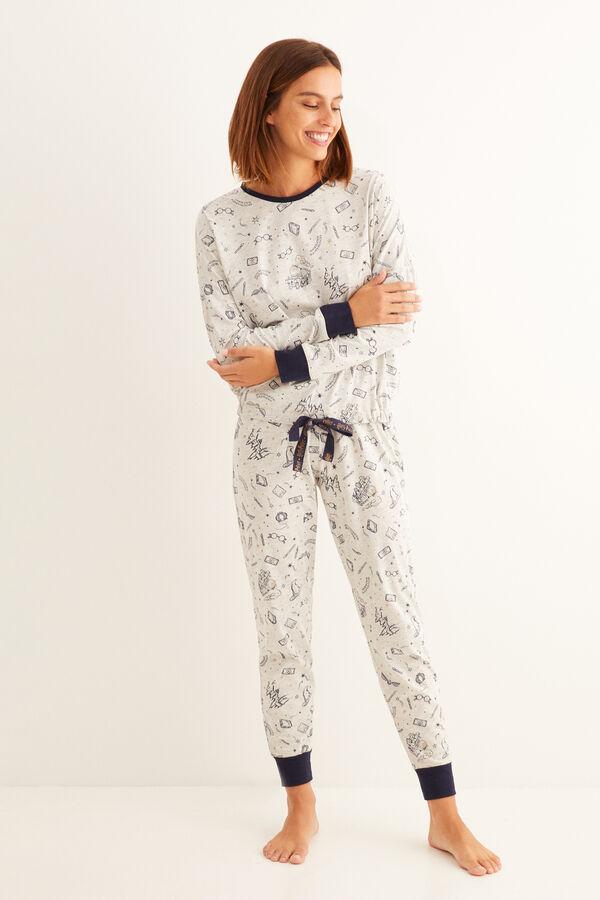 Pijama de pantalón y manga larga de Harry Potter