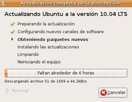 Ubuntu Actualización
