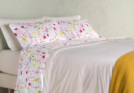 Juego de cama con estampado floral rebajas verano 2020