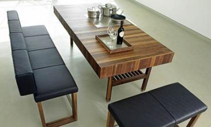 Decoración contemporánea de lujo en madera