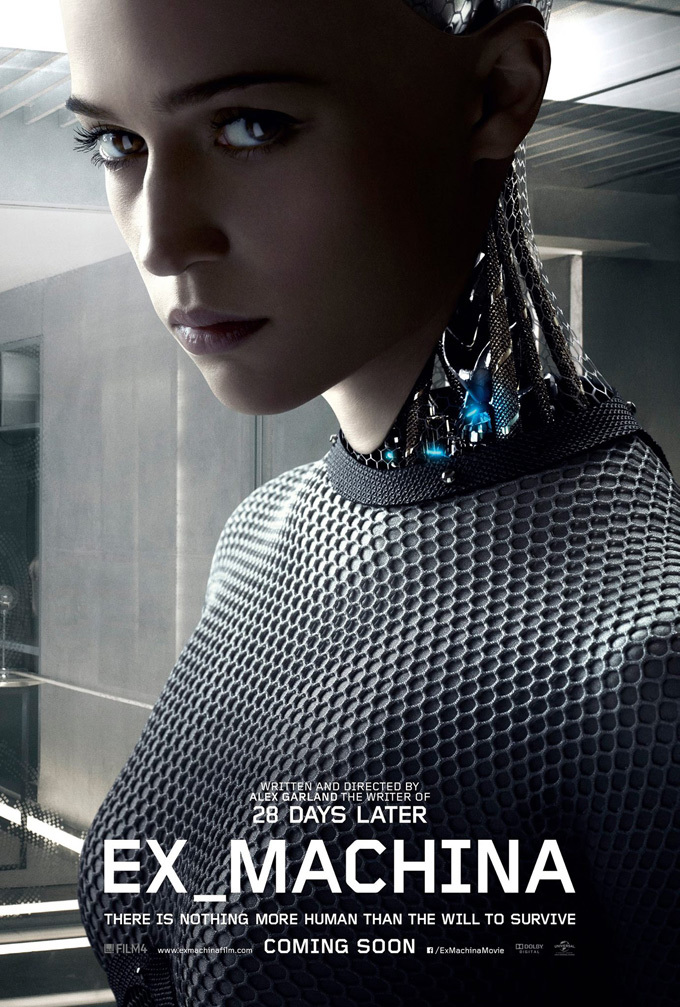 'Ex Machina', carteles