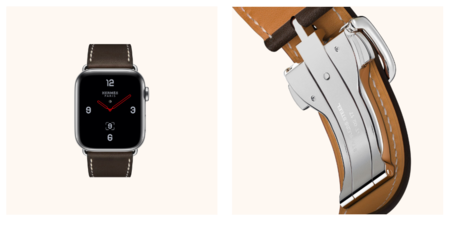 Apple Watch Hermes Oculto Ebene Barenia