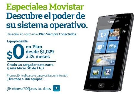 Samsung Omnia W llega a México con Movistar