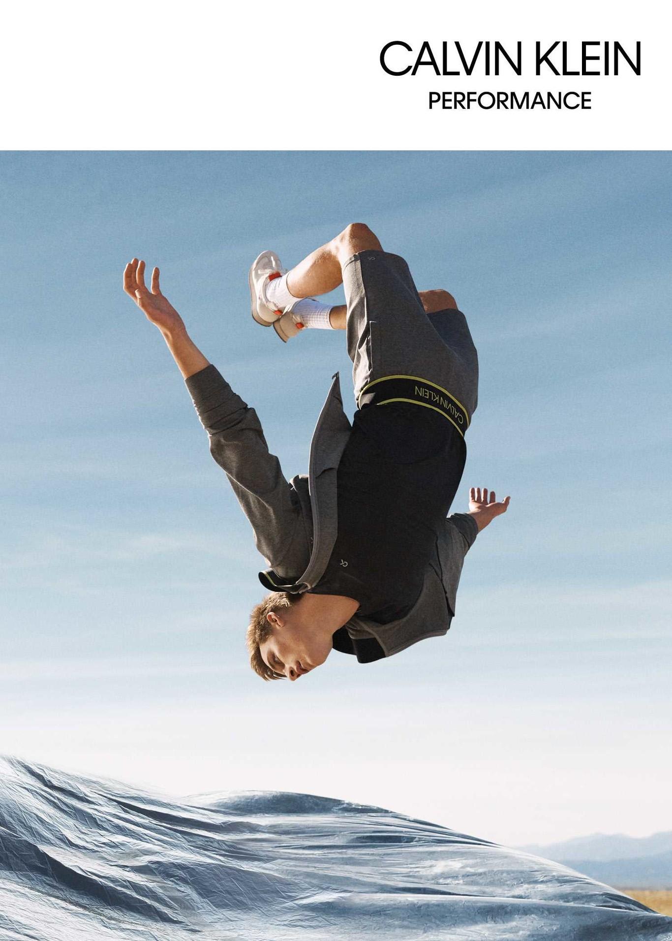 Diseñada para moverse  así es la propuesta Performance de Calvin Klein 698beddf16a