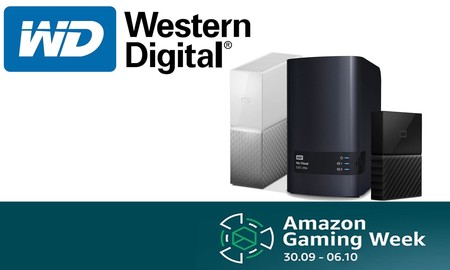 Gaming Week de Amazon: las mejores ofertas en almacenamiento Western Digital