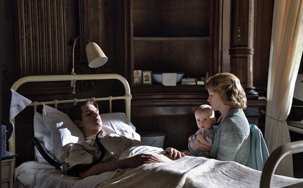 Andrew Garfield And Claire Foy Breathe Movie