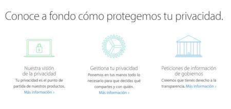 Privacidad Apple