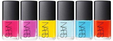 Thakoon Collection for Nars: 6 tonos brillantes para las uñas de verano